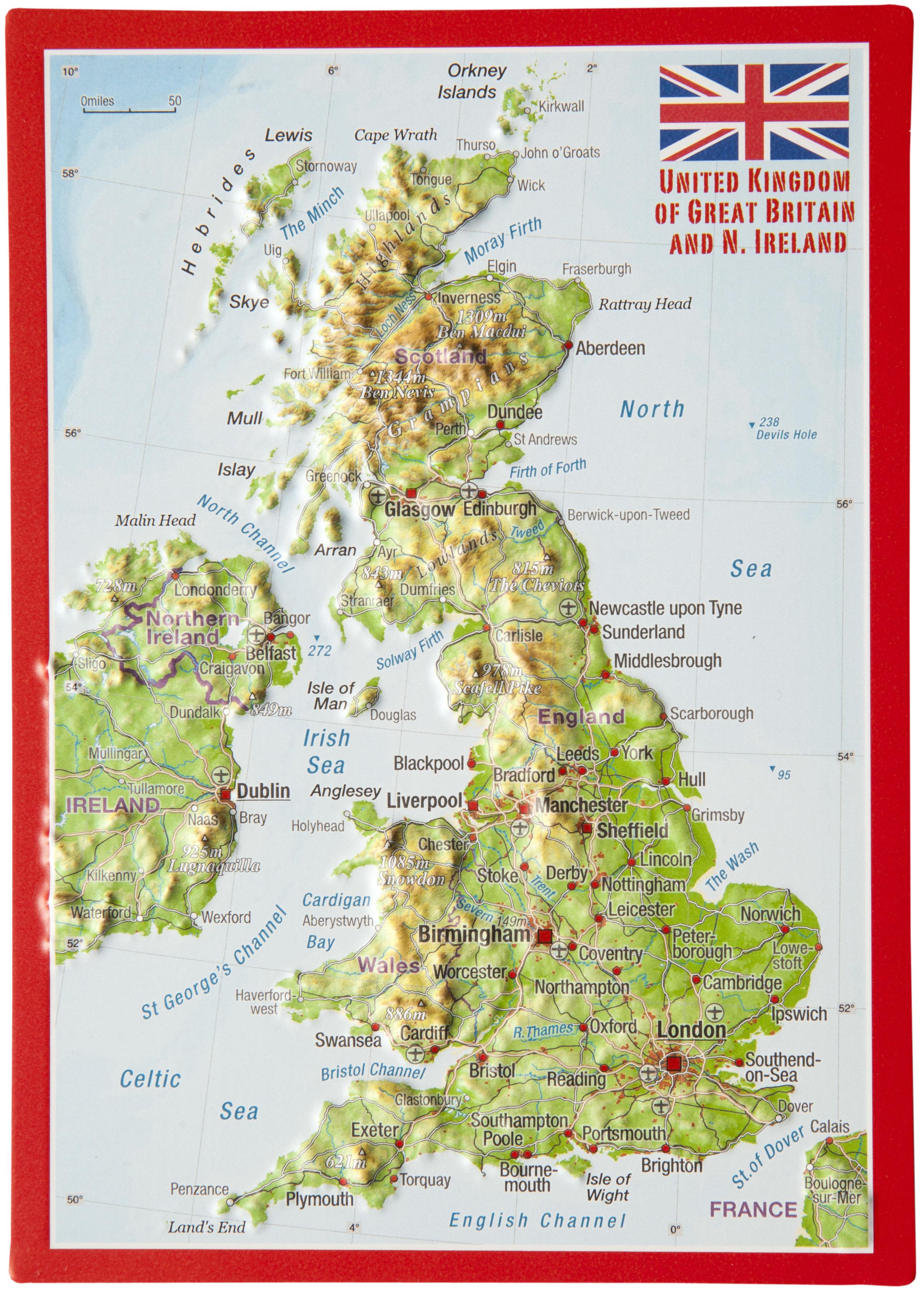 3d Relief Map Of Uk.3d Terrain Map Of Uk Twitterleesclub