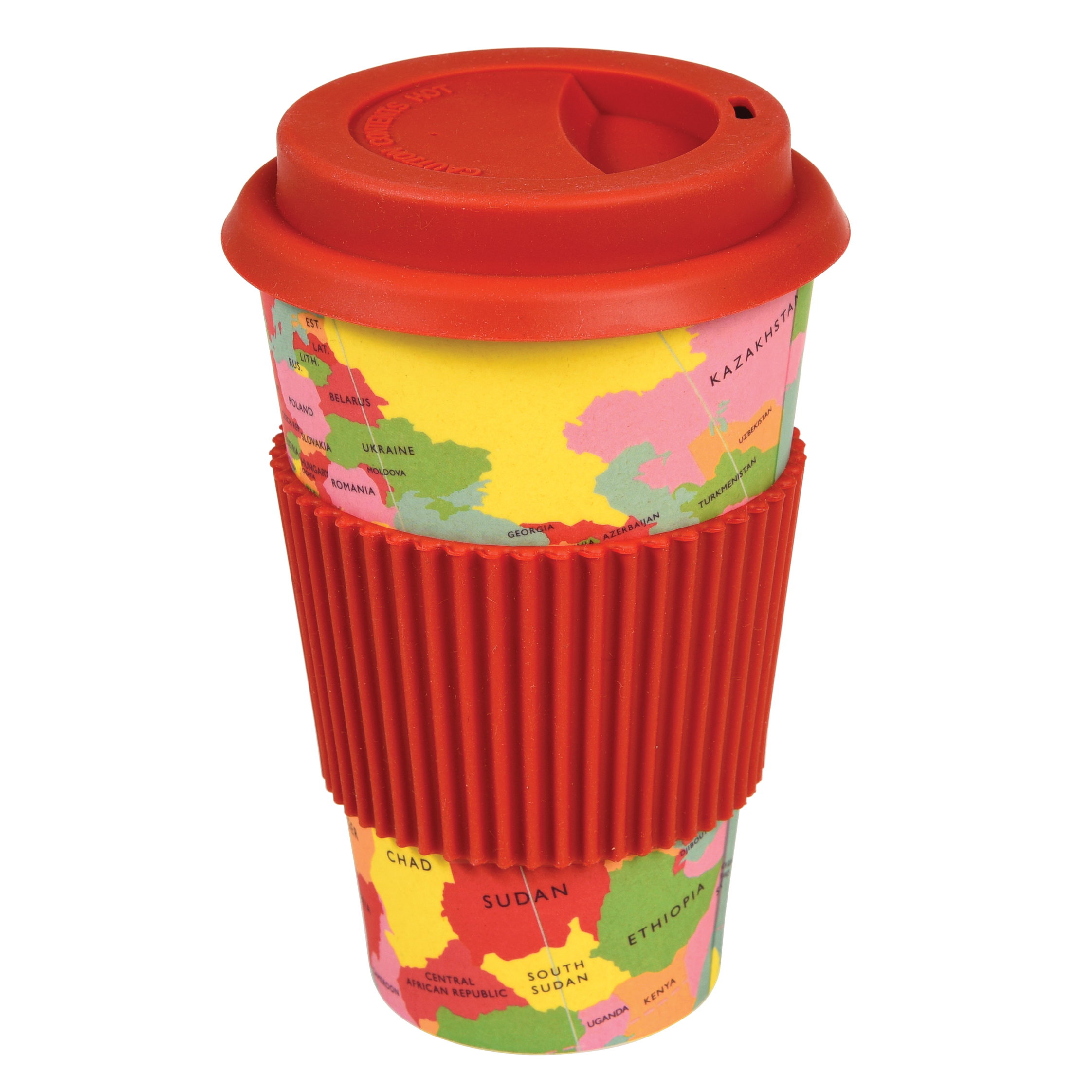Travel mug bamboo