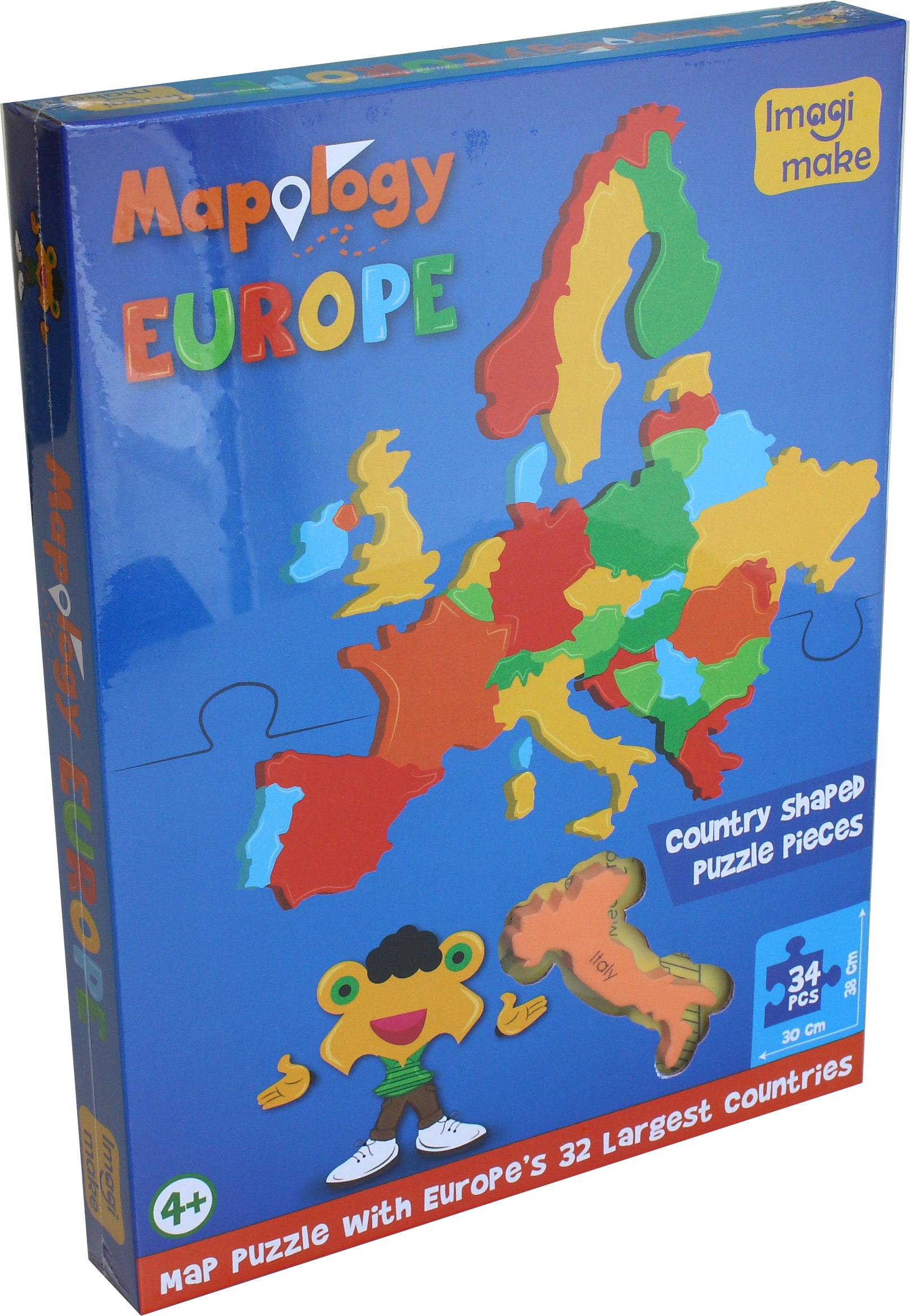 Anticyclone des Açores: Europe (ENG) foam puzzle
