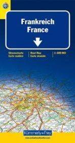blue road maps France