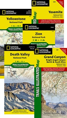 Trails Illustrated Maps